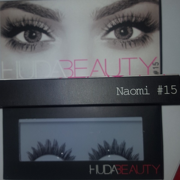 a5e838435d0 HUDA BEAUTY Makeup | 15 Naomi Huda Lashes | Poshmark
